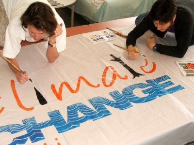 Preparing a banner
